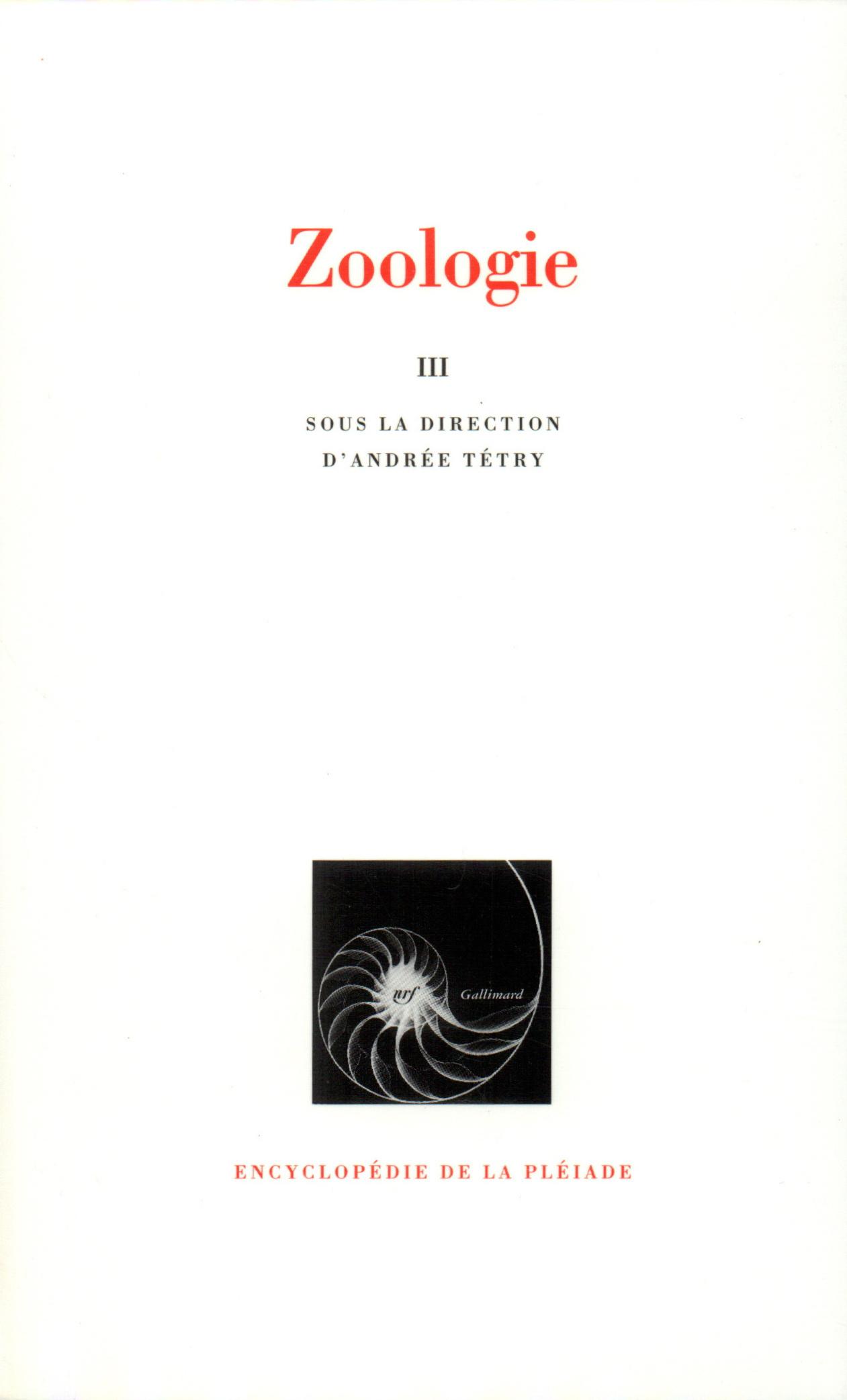 ZOOLOGIE T3