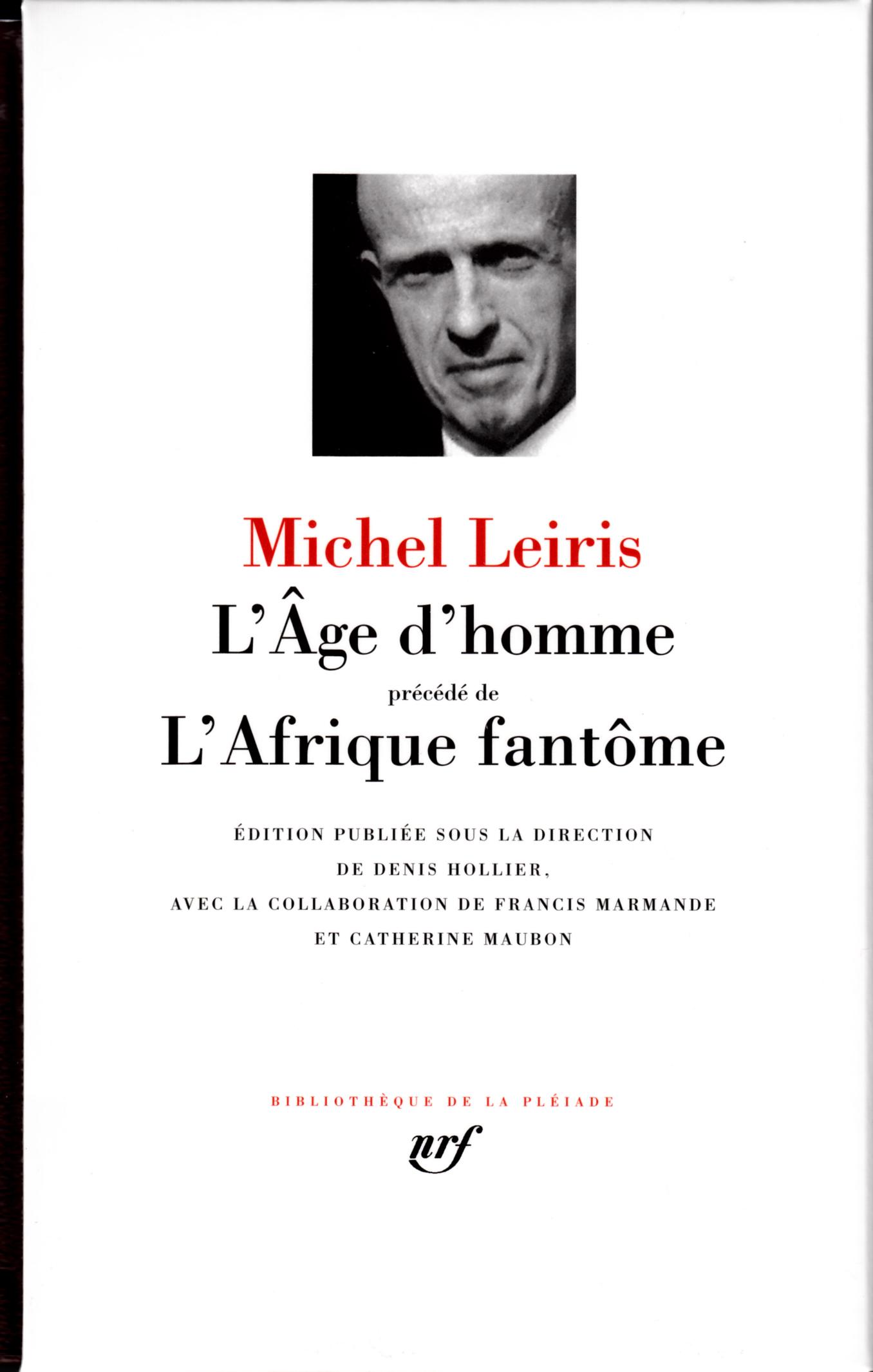 L'AGE D'HOMME