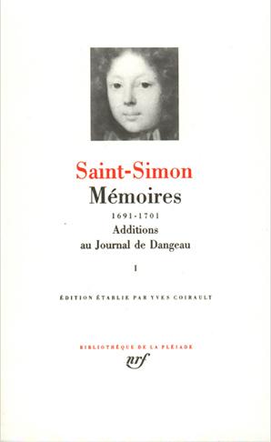 MEMOIRES / ADDITIONS AU JOURNAL DE DANGEAU T1