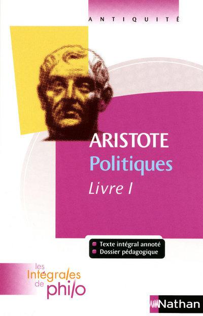 INT PHIL 01 ARISTOTE POLITIQ 1