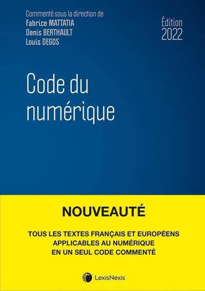 Code du numérique 2021