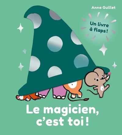 Le magicien, c'est toi ! : un livre à flaps !
