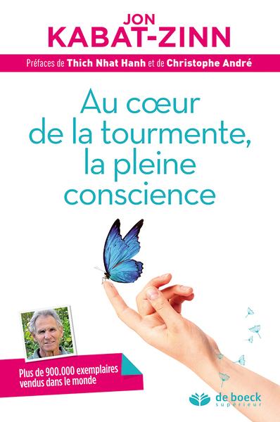 Au coeur de la tourmente, la pleine conscience : réduire le stress grâce à la mindfulness : programme complet en 8 semaines