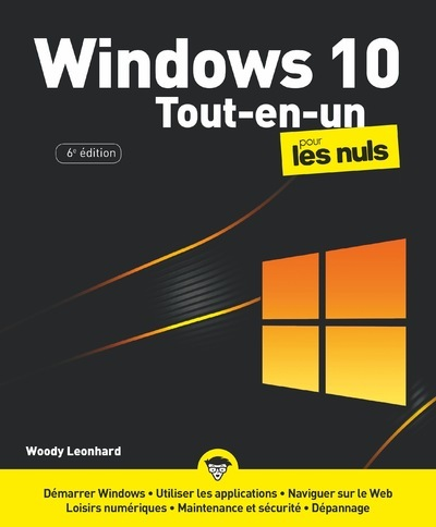 Windows 10 tout-en-un pour les nuls