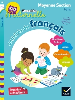 Activités de français, maternelle moyenne section, 4-5 ans