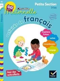 Activités de français, maternelle petite section, 3-4 ans