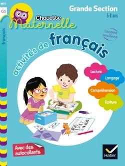 Activités de français, maternelle grande section, 5-6 ans