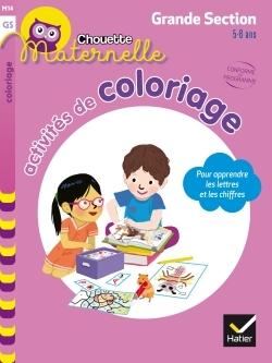 Activités de coloriage pour apprendre les lettres et les chiffres, maternelle grande section, 5-6 ans