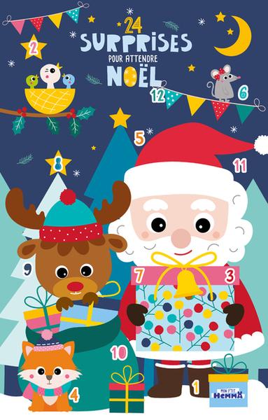 24 surprises pour attendre Noël