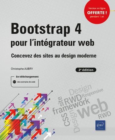 Bootstrap 4 pour l'intégrateur web (2e édition) - Concevez des sites au design moderne