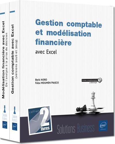 GESTION COMPTABLE ET MODELISATION FINANCIERE AVEC EXCEL - COFFRET DE 2 LIVRES