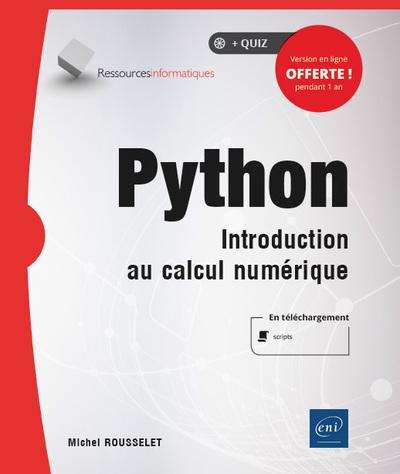 Python - Introduction au calcul numérique