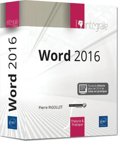 WORD 2016 - L´INTEGRALE