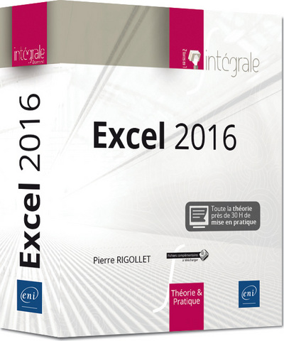 EXCEL 2016 - L´INTEGRALE