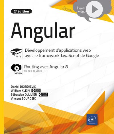 Angular : livre, développement d'applications web avec le framework JavaScript de Google : vidéo, routing avec Angular 8
