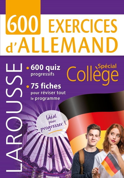 600 exercices d'allemand : spécial collège