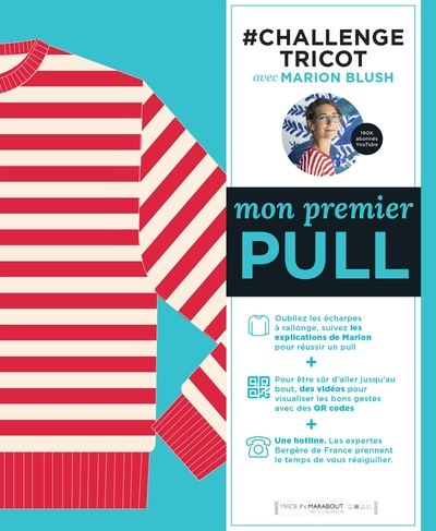 #challenge tricot : mon premier pull