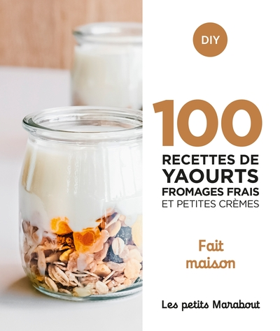 100 recettes de yaourts, fromages frais et petites crèmes : home made