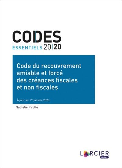 Code du recouvrement amiable et forcé des créances fiscales et non fiscales