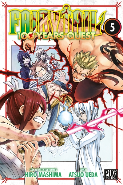 Fairy Tail : 100 years quest. Volume 5