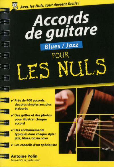 Accords de guitare blues-jazz pour les nuls