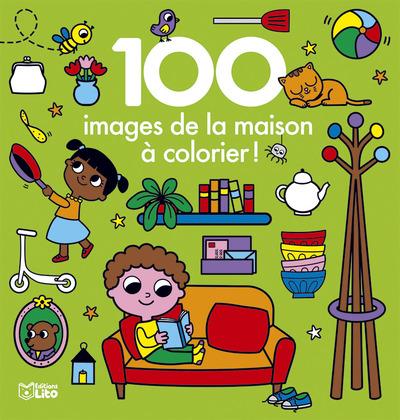 100 images de la maison à colorier !