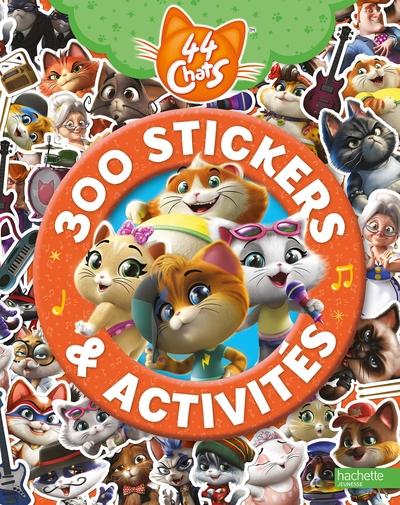 44 chats : 300 stickers & activités