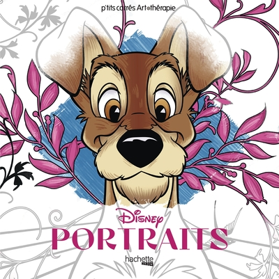 CARRES ART-THERAPIE PORTRAITS DISNEY