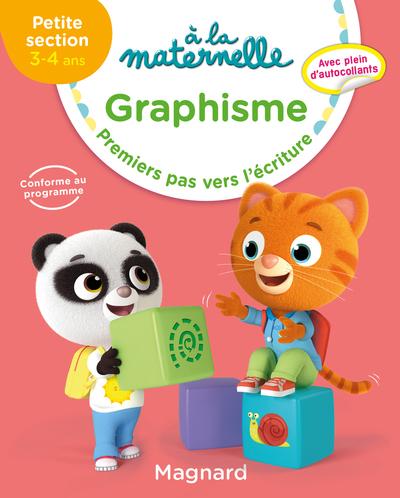 A la maternelle, graphisme, petite section, 3-4 ans : premiers pas vers l'écriture
