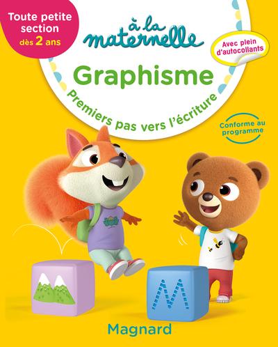 A la maternelle, graphisme, toute petite section, dès 2 ans : premiers pas vers l'écriture