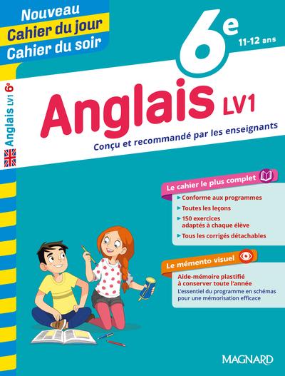 Anglais LV1 6e, 11-12 ans